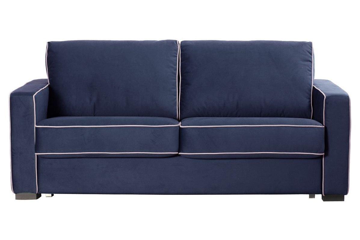 Sofá cama con biselado