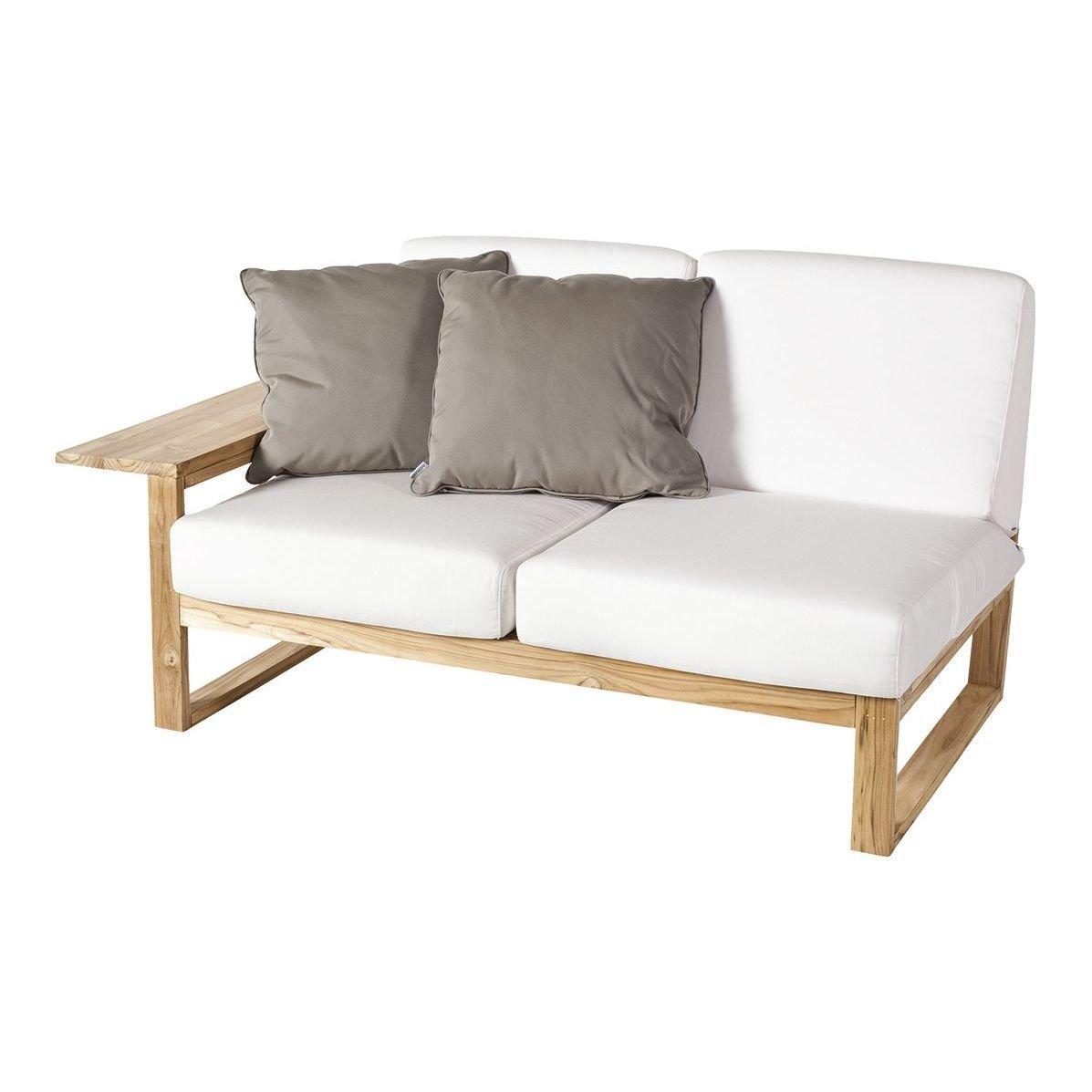 Sofá de madera 2 plazas