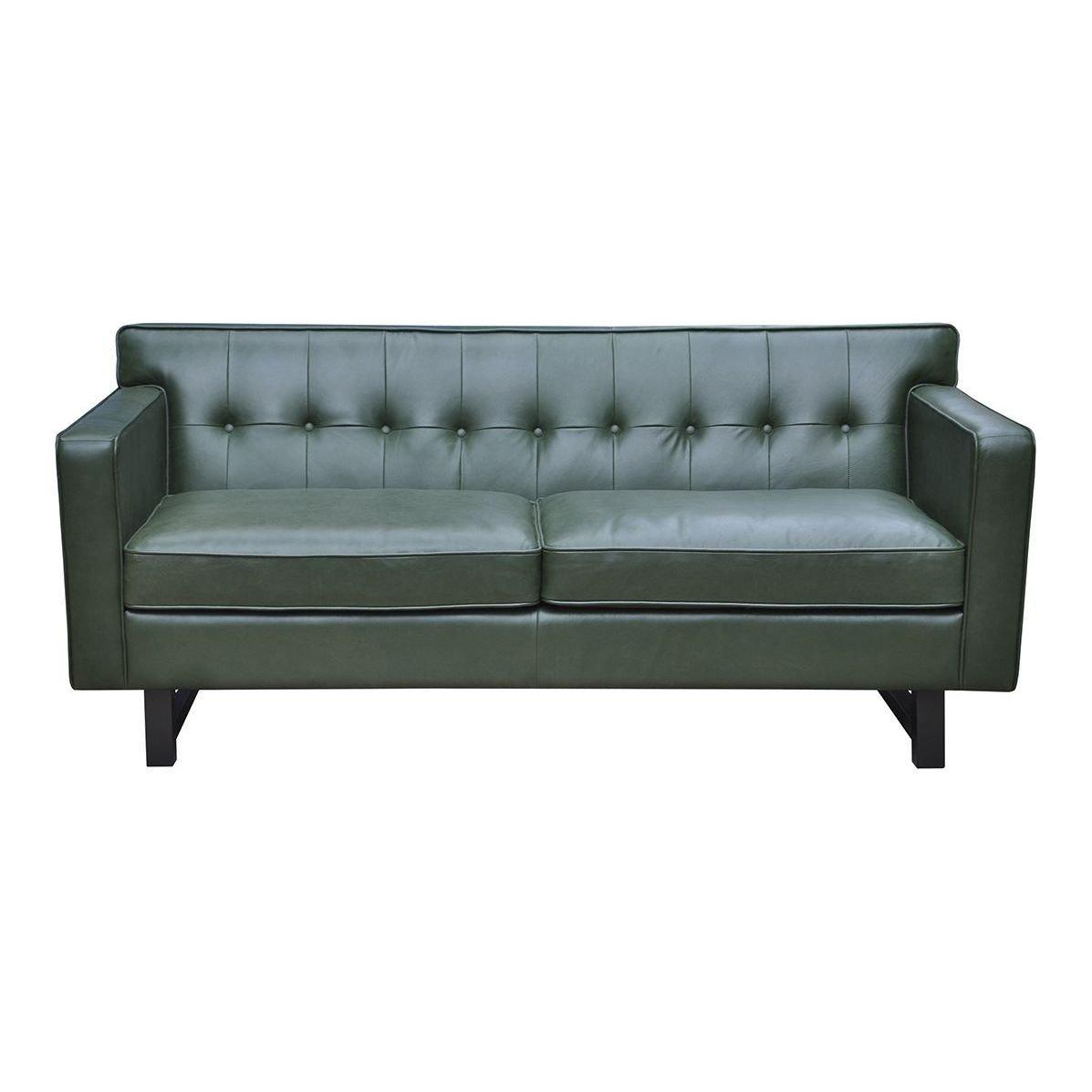 Sofá moderno color verde